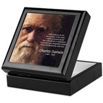 Charles Darwin: God Creation Keepsake Box