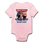 Uncle Sam Anti Liberal Infant Creeper