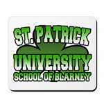 St. Patrick University School of Blarney Mousepad