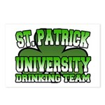 St. Patrick University Drinking Team Postcards (Pa