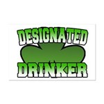 Designated Drinker Mini Poster Print