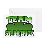 Team St. Patrick Greeting Card