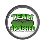 Team Smashed Wall Clock
