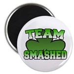 "Team Smashed 2.25"" Magnet (100 pack)"