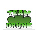 Team Drunk Mini Poster Print