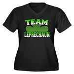 Team Leprechaun Women's Plus Size V-Neck Dark T-Sh