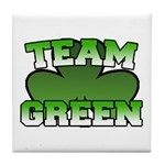 Team Green Tile Coaster
