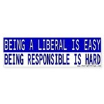 Anti-Liberal Bumper Sticker