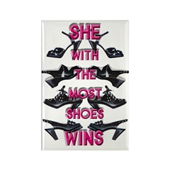 Vintage Shoes Fridge Magnet