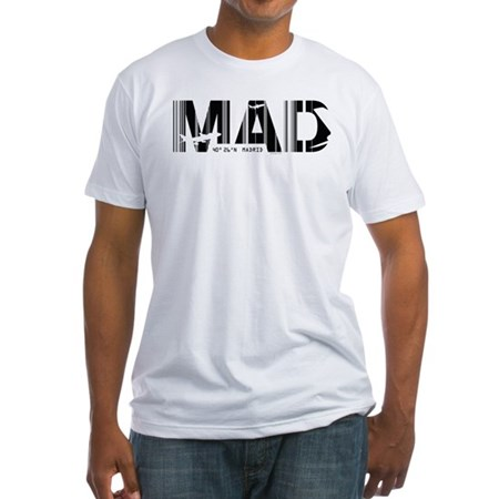 Madrid Spain MAD Air Wear Fitted T-Shirt
