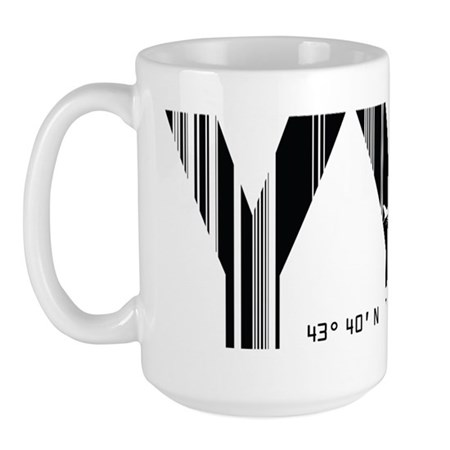 Toronto Canada YYZ Air Wear Large Mug