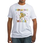 Bee Pediatric Nurse Fitted T-Shirt