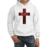 INRI Cross Hooded Sweatshirt