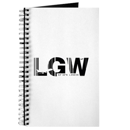 London Gatwick England LGW Airport Code Journal