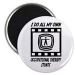 "Occupational Therapy Stunts 2.25"" Magnet (100"