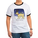 Reindeer Yellow Lab Ringer T