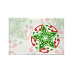 Celtic Christmas Star Rectangle Magnet (10 pack)