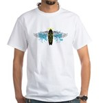 """Surf Angel: Tribe"" White T-Shirt"