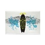 """Surf Angel: Tribe"" Rectangle Magnet (100 pack)"