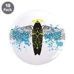 """Surf Angel: Tribe"" 3.5"" Button (10 pack)"