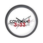 """Covenant: Curse of the Lord"" Wall Clock"