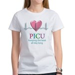 PICU Keeping the beat all day Women's T-Shirt
