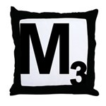 M3 Throw Pillow