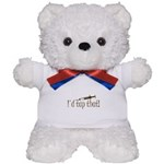 Funny Phlebotomy & Nursing Teddy Bear