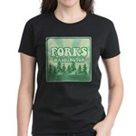 Twilight Forks Women's Dark T-Shirt