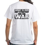 War On Poverty White T-Shirt