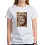 Greek Philosophers: Aristotle Women's T-Shirt