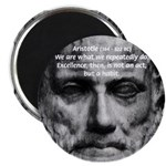 "Greek Philosophy: Aristotle 2.25"" Magnet (100 pack"