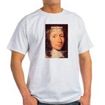Mathematician: Blaise Pascal Ash Grey T-Shirt