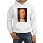 Mathematician: Blaise Pascal Hooded Sweatshirt