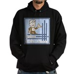 Deco Father of the Groom Hoodie (dark)