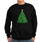 Celtic Christmas Tree Sweatshirt (dark)