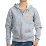 Sherbet Father of the Groom Women's Zip Hoodie