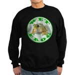 Wet Pond Frog Sweatshirt (dark)