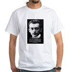 Philosopher / Scientist: Max Born White T-Shirt