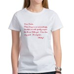 Twilight Edward Christmas Women's T-Shirt