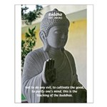 Eastern Philosophy: Buddha Small Poster