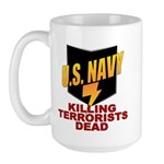 U.S. Navy Kills Terrorists Large Mug
