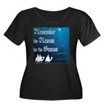 """Remember the Reason"" Women's Plus Size Scoop Neck"