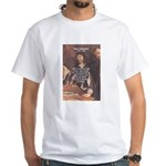 Philosopher: Rene Descartes White T-Shirt