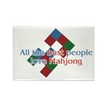 Mahjong Rectangle Magnet (10 pack)