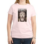 Stoic Philosophy: Zeno Women's Pink T-Shirt
