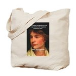 Feminist Mary Wollstonecraft Tote Bag
