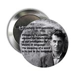 "Ludwig Wittgenstein 2.25"" Button (100 pack)"