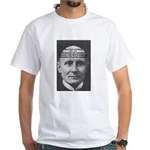 Philosopher: Alfred Whitehead White T-Shirt