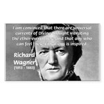 Musician Richard Wagner Rectangle Sticker